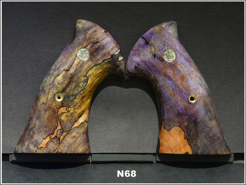 Purple Green Spalted Maple