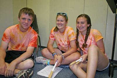 Drum Line Camp - 6 Aug 2009