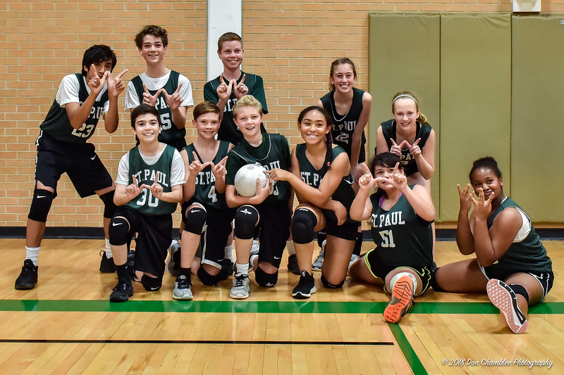 SPS Coed Volleyball 9-08-18