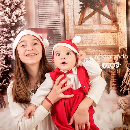 Erik y Camila, seisón navideña