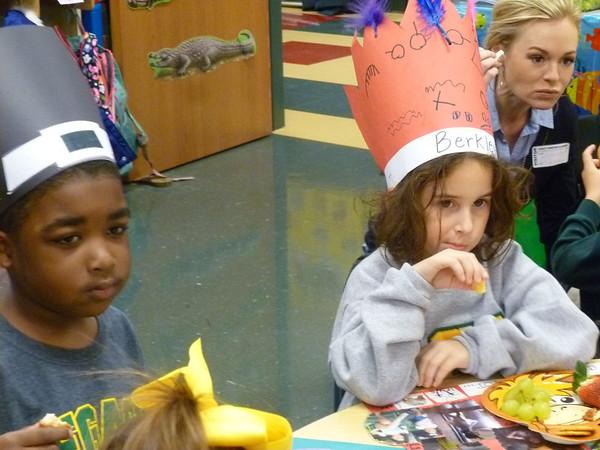 Pre-School Thanksgiving Finger-Food Feast