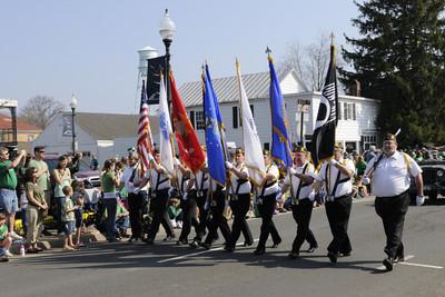 Manassas St Patrick's Day Parade 2012