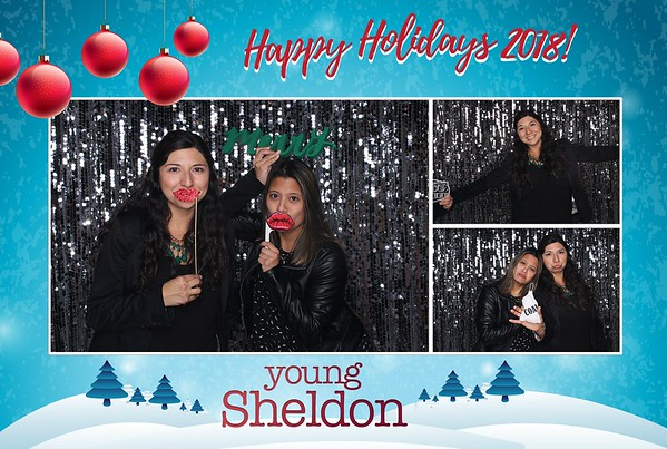 Holiday Party Young Sheldon
