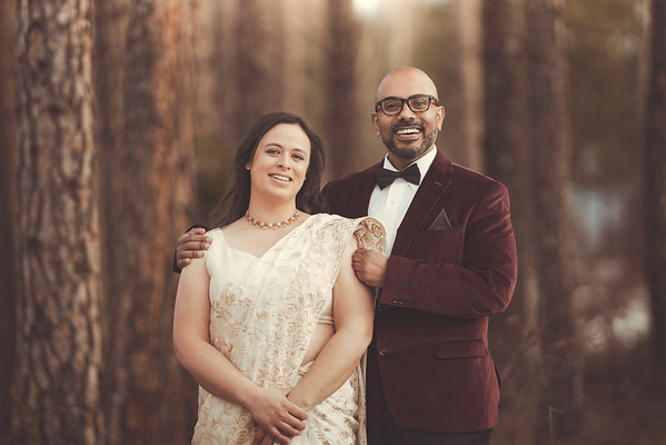 Emily + Ajith | Elopement
