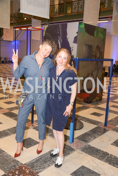 Lisa Marie Thalhammer, Maggie Michael, By The People, Arts Festival, Smithsonian Arts and Industries Building, June 14th, 2019.  Photo by Ben Droz.