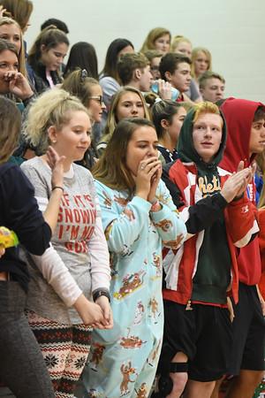 Crowd at Varsity Basketball vs Seward
