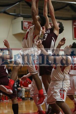 Liberty vs Manor Boys Basketball