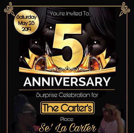 The Carter's 5th Anniversary