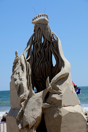 Revere Beach Sand Sculpture Contest