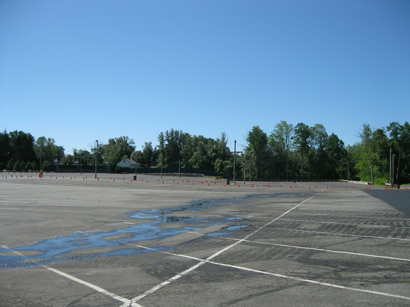 The new parking lot section that was added this season.
