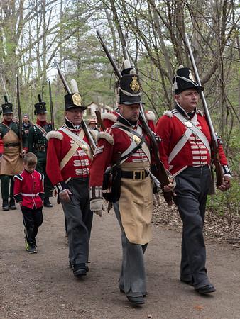 Westfield Heritage Village 1812 War Re-enactment