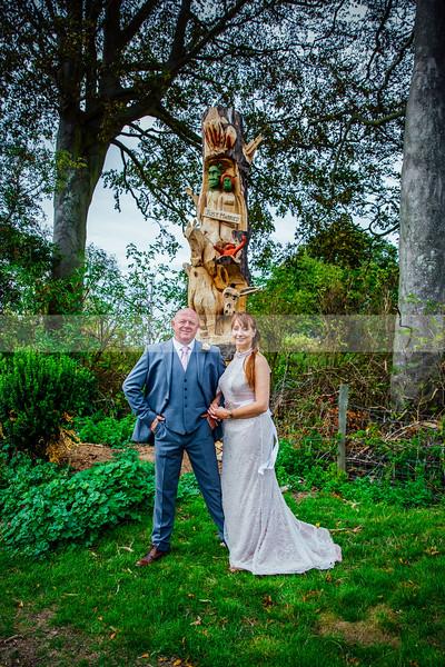 The wedding of Pete & Carole