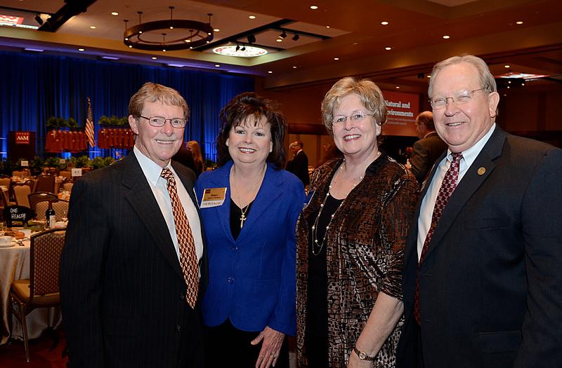 Harold Putnam '58, Janie Putnam, Jane Woytek, Oscar Woytek Jr '64