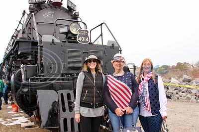 Big Boy Steam Engine 4014 - Marshall Stop by Jim Bauer