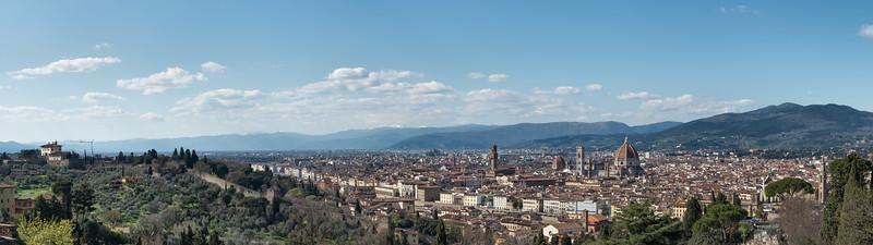 Firenze - Basilica di San Miniato al Monte, Florence, Italy - April 6, 2015