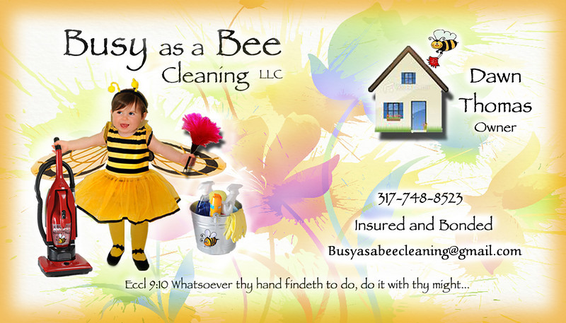 Busy as a Bee Cleaning