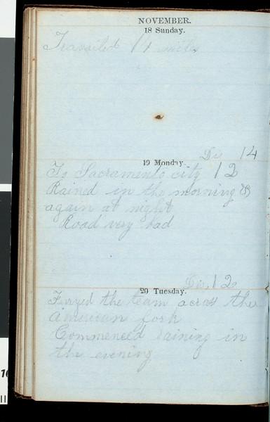 Diary of Benjamin Bennett Briggs, 1849