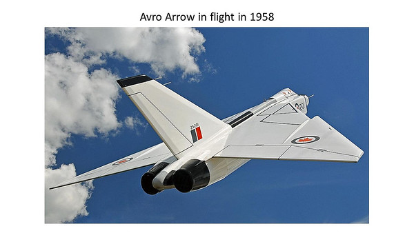 Oct 10 Sean Cragg - Avro Arrow