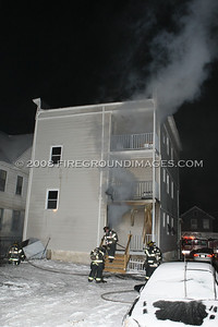Deacon St. Fire (Bridgeport, CT) 12/31/08