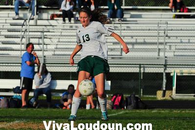 Girls JV: Woodgrove at Loudoun Valley (4-26-2013 by Jeff Vennitti)