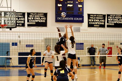NEPSAC Quarterfinals: GV Volleyball vs. Choate