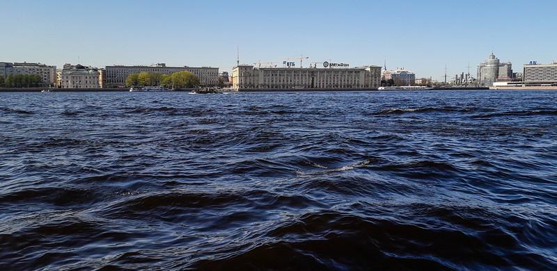 Bank of Neva River