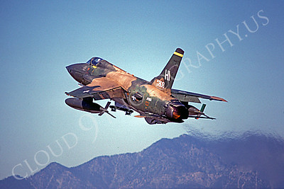 AFTERBURNER: US Air Force Republic F-105 Thunderchief Fighter-Bomber Afterburner Pictures