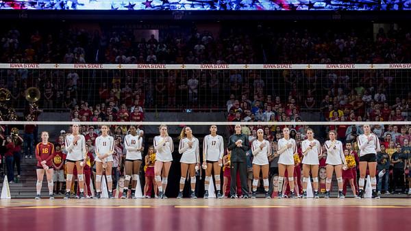 ISU Volleyball vs Iowa 09/14/18