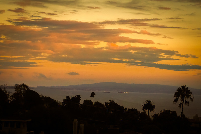 September 14 - Sunset over Santa Monica Bay.jpg