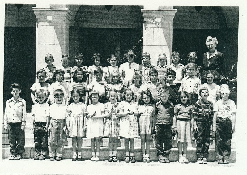 Nancy's class at El Rodeo, first grade with horrible Ms. Rose.