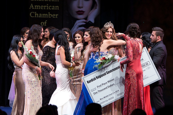 Miss Middle East CA Beauty Pageant (2014)