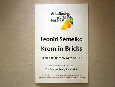 ArtsNaples Kremlin Bricks 2012