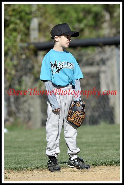 Little League - Marlins vs Orioles  April, 2010
