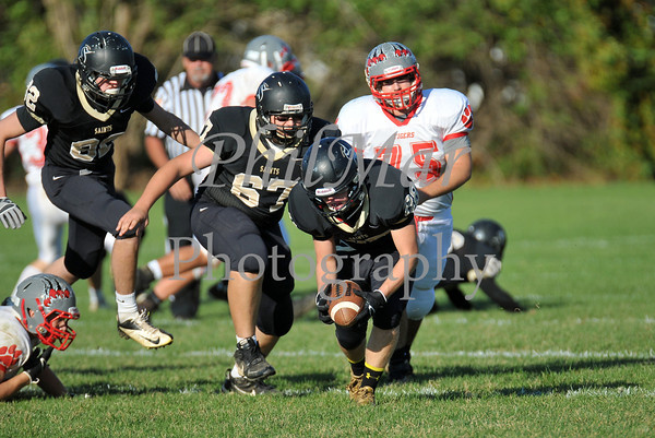 JV - Berks Catholic vs Fleetwood JV Football 2013 - 2014