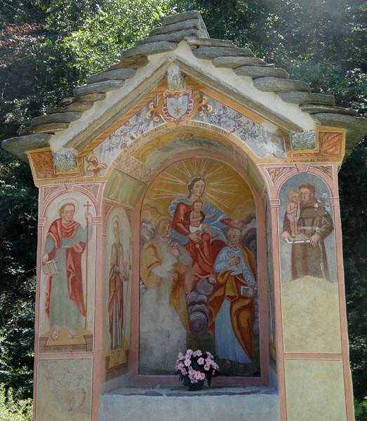 Catholic shrines also abound