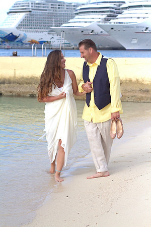 Brian & Theresa | Destination Wedding | Hilton Resort | Nassau, Bahamas