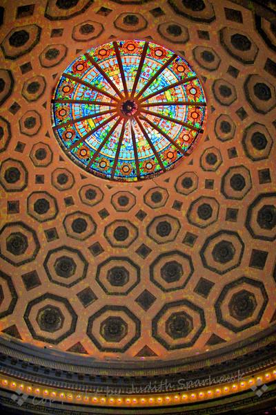 The Rotunda Ceiling - Judith Sparhawk