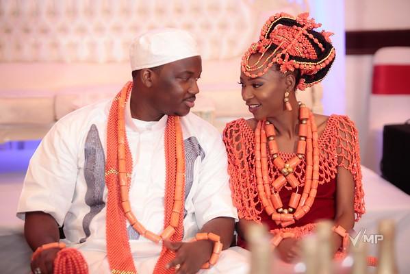 Ikponmwosa weds Osahon