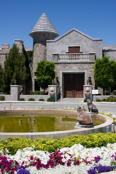 The Castle at Ashley Manor, front view. Wedding out back, reception inside, photos out front.