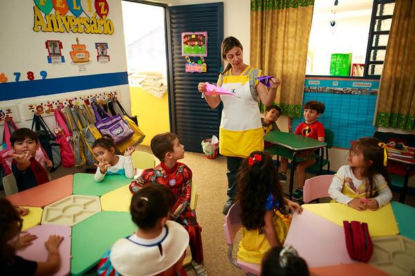 Júlia 5 anos - Aniversário na Chave do Tamanho