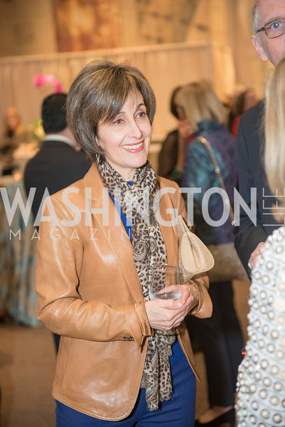 Ambassador Dina Kawar,  Freer Sackler, Gallery of Art, Empresses of China, March 27, 2019. Photo by Ben Droz.