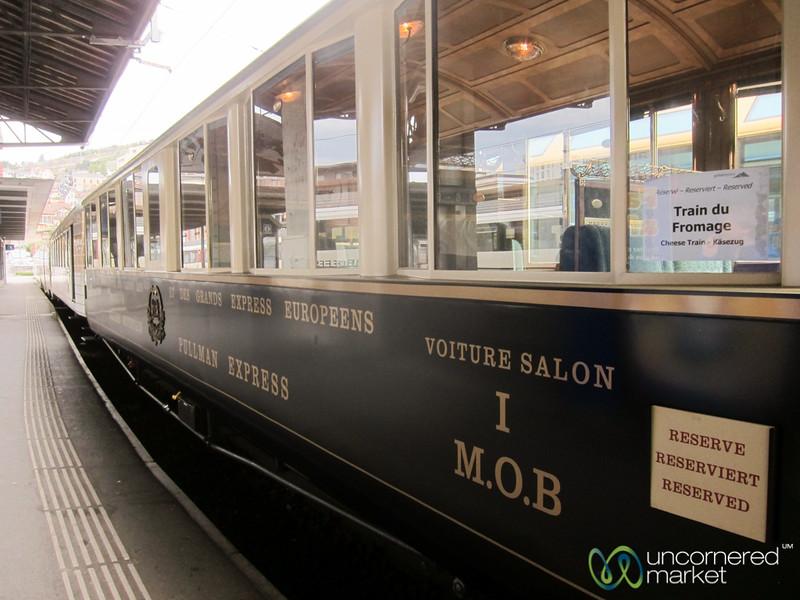 Cheese Train - Montreux, Switzerland