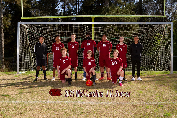 2021 Mid Carolina JV boys soccer
