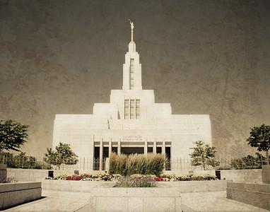 Draper Utah LDS Temple Prints