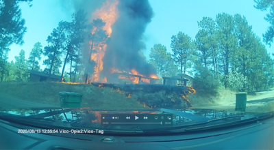Deertrail Drive House Fire