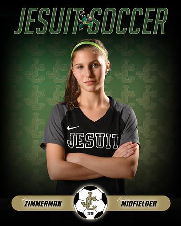 Women's Varsity Soccer (Portraits)