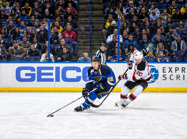 St. Louis Blues vs. New Jersey Devils January 28, 2014