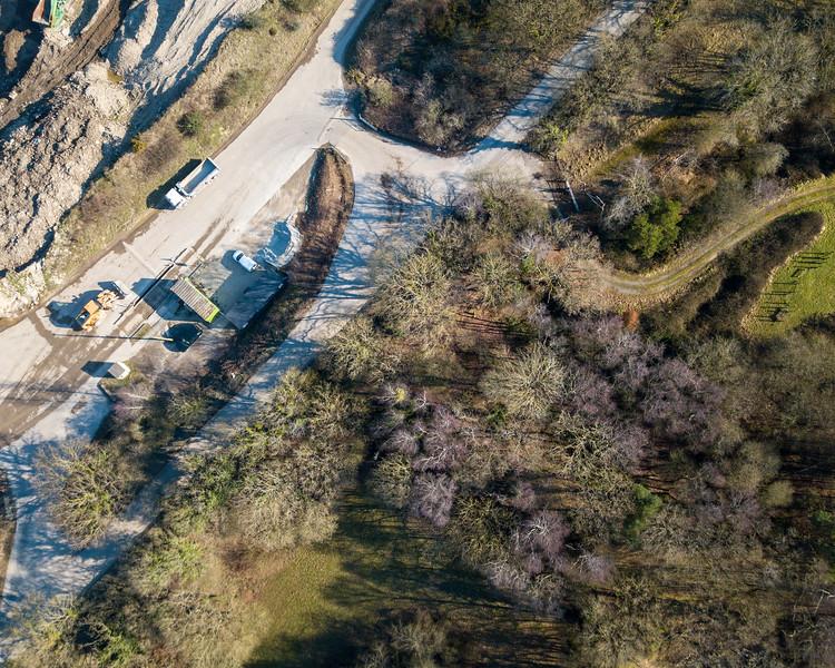 Crossways Quarry in Dorset