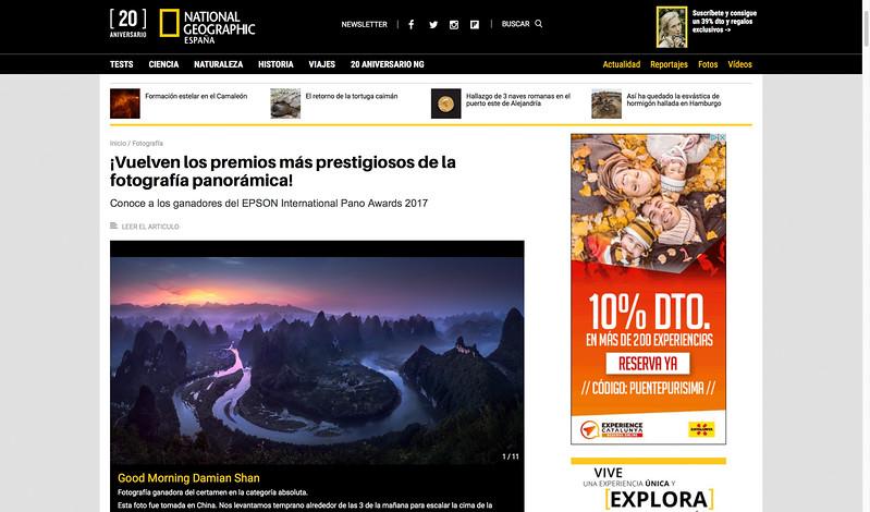 National Geographic Jesús M. García Flores