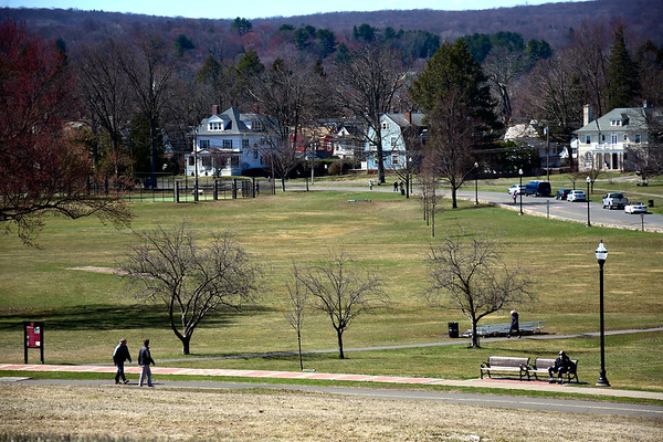 3/21/2020 Mike Orazzi | Staff Walnut Hill Park in New Britain on Saturday.